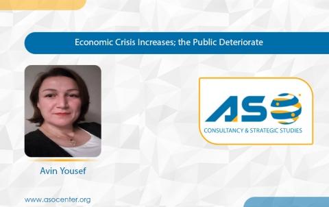 Economic Crisis Increases; the Public Deteriorate