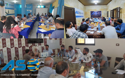 A Meeting of a Group of Organizations in Northeast Syria to Discuss and Submit Proposals and Recommendations to Brussels Conference of European Donor Countries