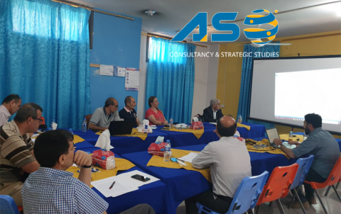A Meeting with Lawmakers in Amouda Town for the Civil Community Organizations Drafting of Recommendations for Donor Countries in Brussels Conference: