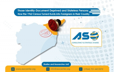 Those Identity-Document Deprived and Stateless Persons: How the 1962 Census Turned Kurds into Foreigners in their Country