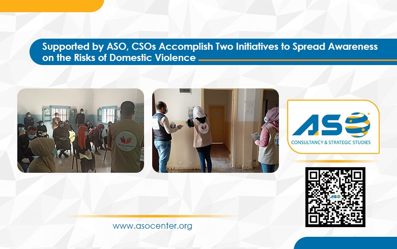 Supported by ASO, CSOs Accomplish Two Initiatives to Spread Awareness on the Risks of Domestic Violence