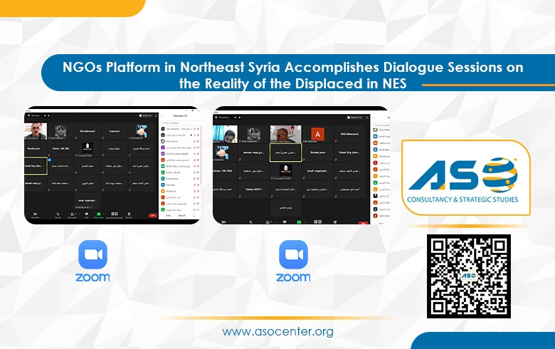 NGO Platform in Northeast Syria Accomplishes Dialogue Sessions on the Reality of the Displaced in NES