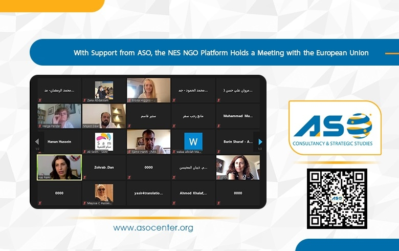 With Support from ASO, the NES NGO Platform Holds a Meeting with the European Union