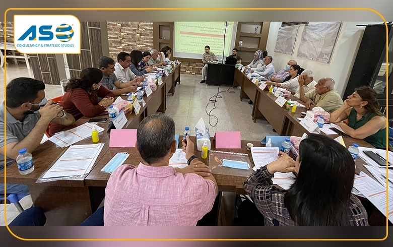 ASO Concludes a Joint Dialogue Session for Community Events in Al-Hasakah Governorate on Their Demands from Local Political Actors
